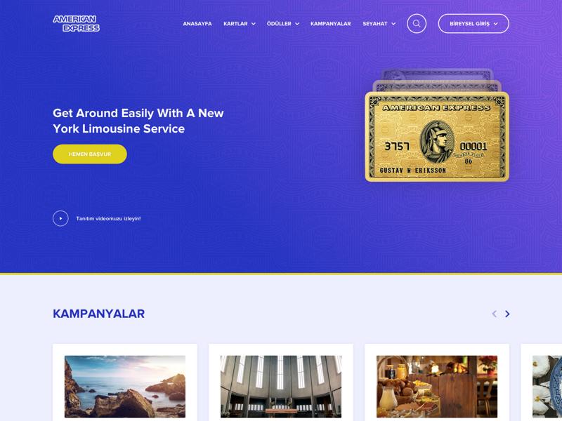 Amex Redesign Concept card app web bank ui bank redesign ui design ui