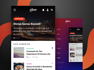 News App redesign