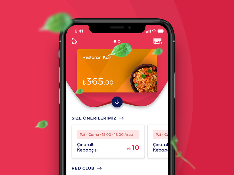 Ticket Card Mobile App card principle interaction restaurant cook food wireframe ui design ux ticket mobile app