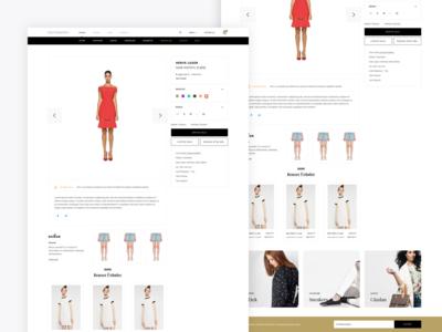 Fashion Store Detail