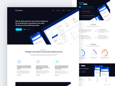 Talent Envoy Landing Page v1