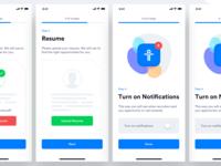 TE - Candidate App - Upload Resume & Notification Permission