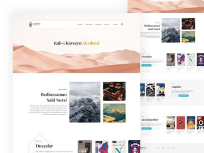 Kabi Kavseyn Academy [Society] Homepage