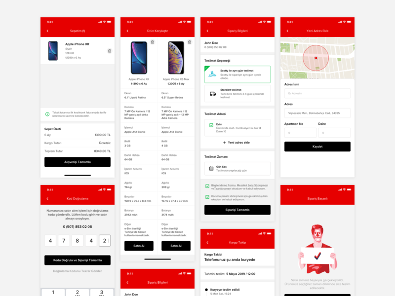 🏆Vodafone Designathon 🥉3rd Winner E-Shop Mobile App map search illustration compare cart buy mobile device store interaction design ux design mobile shop story winner mobile phone purchase e commerce e-shop vodafone mobile app hackathon designathon