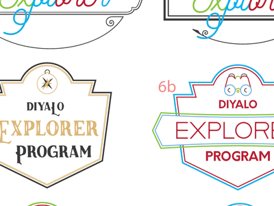 Diyalo Explorer Program patch badge explorer logo