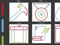 Icons for Diyalo Foundation