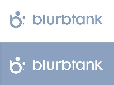 Logo Redesign for Blurbtank startup bubble sans-serif redesign logo app
