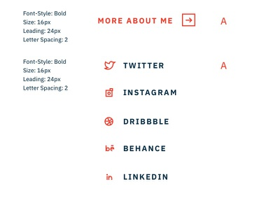 Icons and Branding guide system brand twitter icons