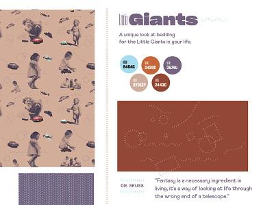 Little Giants Concept logo design illustration typography type brand