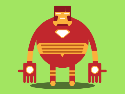 Ironman (self-portrait)