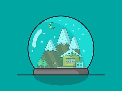Snow Globe snow holidays