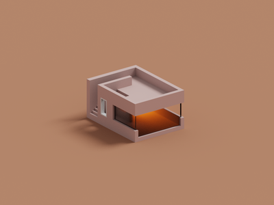 Voxel House Practice fun minimal house magicavoxel voxel