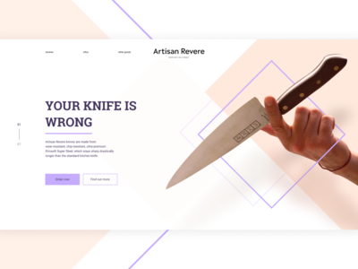 Knife selling website
