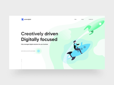 Digital Agency concept