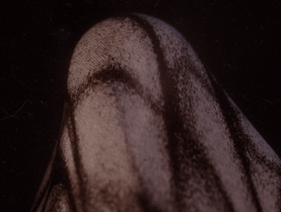 Ghost in Solitude Close Up