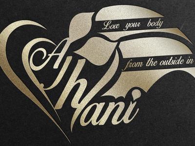 Ajhani logo & business card