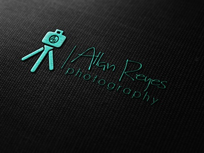 my recent work - logo for photographer Allan Reyes
