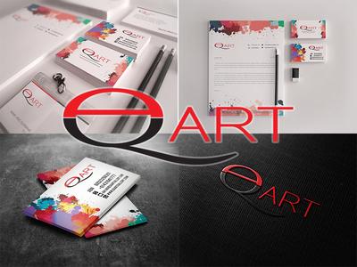 Branding Identity  for Artist QA Art