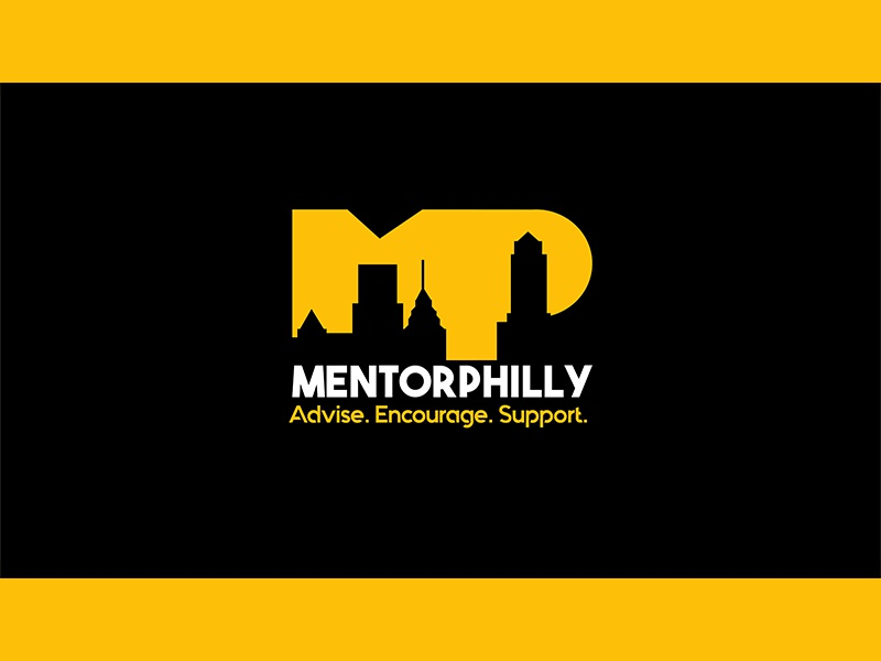 Logo for MentorPhily skyline black n yellow black yellow mentor logo mentors