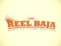 Reel Baja Text Logo
