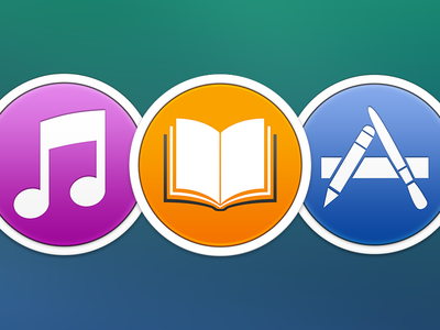 iTunes + Mac App Store + iBooks
