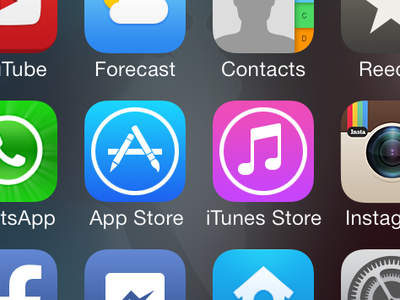 Instagram iOS 7 Icon instagram ios 7 icon redesign flat
