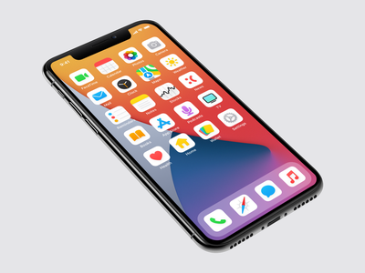 Bold Light (iOS 14 Icon Set) custom icons icon set icon pack home screen redesign ios ios 14 aesthetics aesthetic