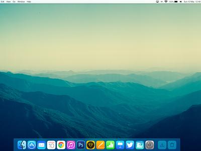 OS X 10.10 Concept osx os x concept ios 7 flat syrah 10.10