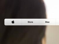 Apple.com Navigation
