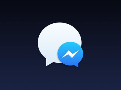 Messenger for Mac / Goofy Icon os x mac icon yosemite facebook messenger