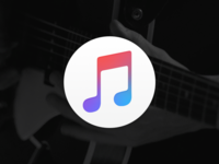 iTunes Borderless music apple icns replacement itunes