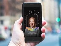 Trojan Pride Parade Snapchat filter
