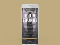 Appleton Estate Rum Lounge Evite