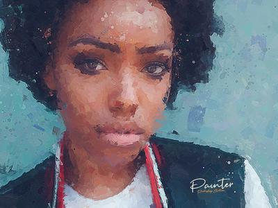 Painter / illustrations - Photoshop Effect