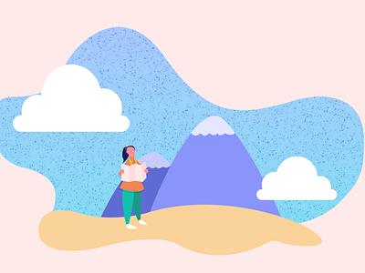 Mountain Journey, Revisited branding web vector art illustration vector minimal graphic design digital illustration design ui