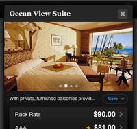 Hotel Room Reservation - Mobile