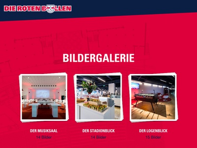 Hospitality & Events — Die Roten Bullen red bull redbull responsive website