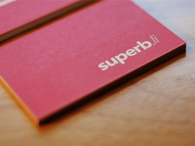 superb.li cards business cards red moo