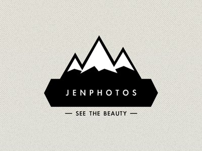 Logo, yay! logo mountains