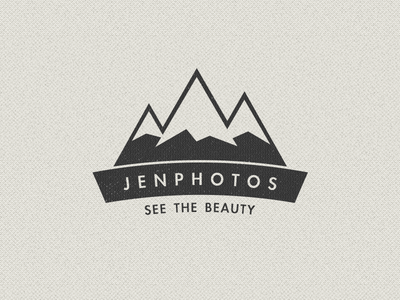 Logo update 2 texture beige logo mountains branding indentity