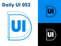 Daily UI 052 - Daily UI logo