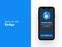 Daily UI 084 - Badge