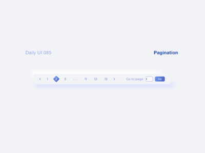 Daily UI 085 - Pagination