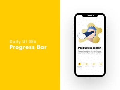 Daily UI 086 - Progress Bar