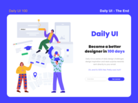 Daily UI 100 - The end