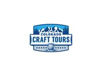 COLORADO Craft Tour logo deign