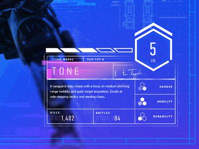 Game Menu Screen UI
