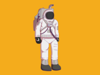 Astronaut in the orange mind