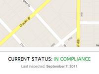 Inspection Status
