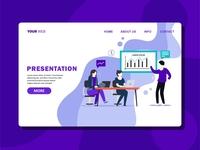 Presentation Landing Page